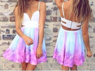 dress bag leggings pastel dress party dress
