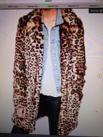 coat animal print leopard print winter coat winter outfits yellow black coat faux leather coat fur coat fur faux fur