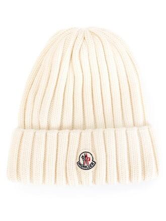 knit women beanie nude wool hat