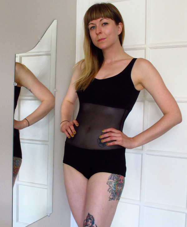 swimwear mesh swimwear