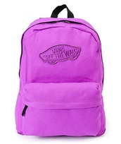 bag,purple vans backpack