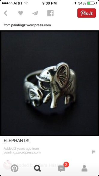jewels ring elephant elephant ring
