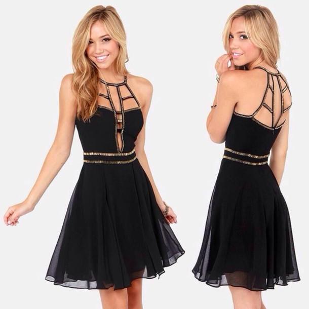 dress little black dress black black dress short dress