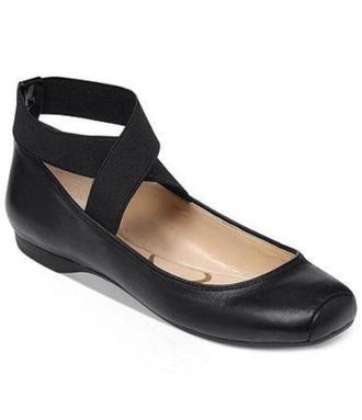 jessica simpson flats ballerina leather ballet flats