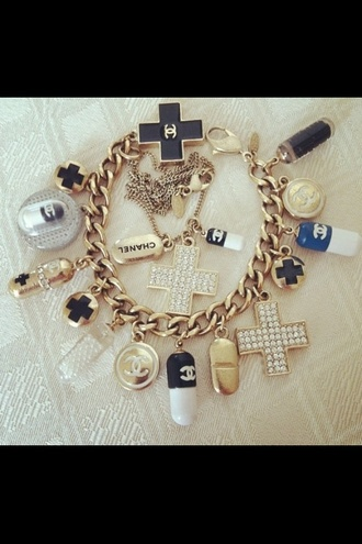 jewels chanel bracelets charm bracelet