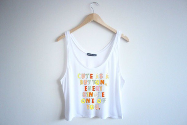 shirt one direction crop top