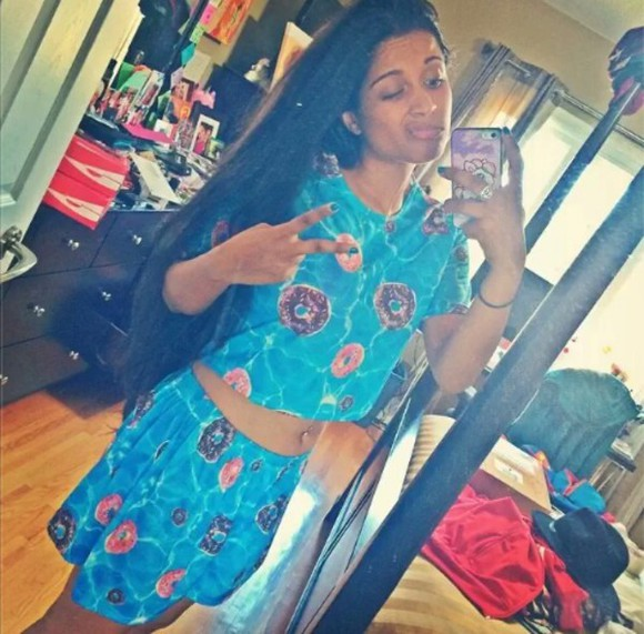 superman pajamas cute straight hair iisuperwomanii donut selfie