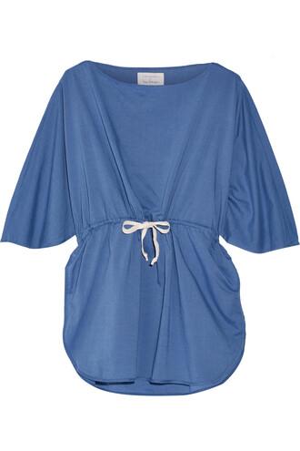 tunic cotton denim top