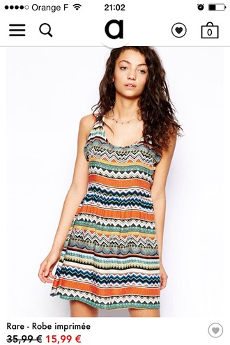 dress asos summer dress summer rare