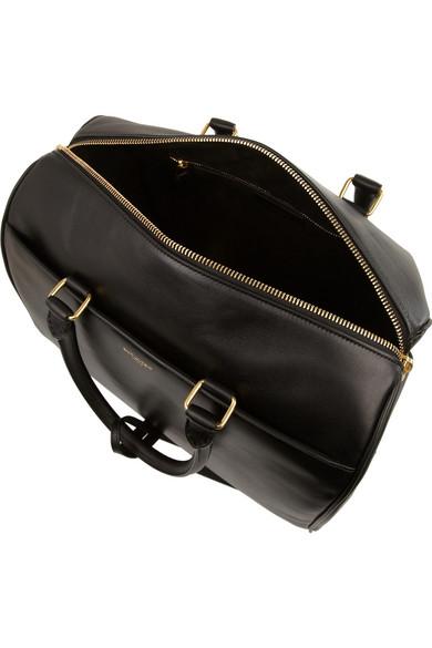Saint Laurent|Classic Duffle 6 leather bag|NET-A-PORTER.COM