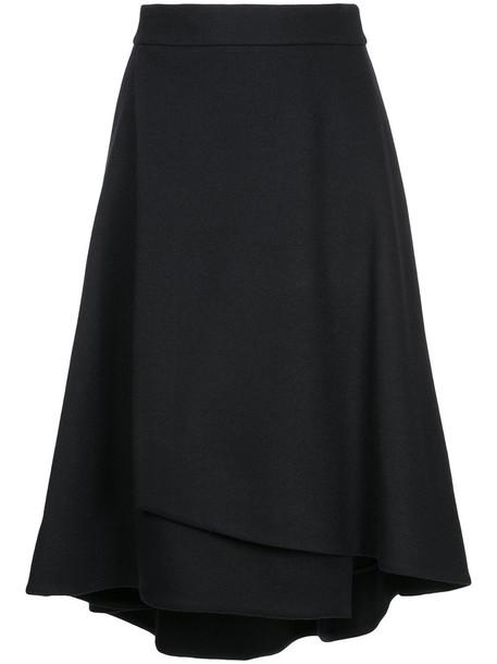 Estnation skirt women black wool