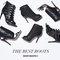 Sam edelman black faux fur jacket | bluefly up to 70% off designer brands