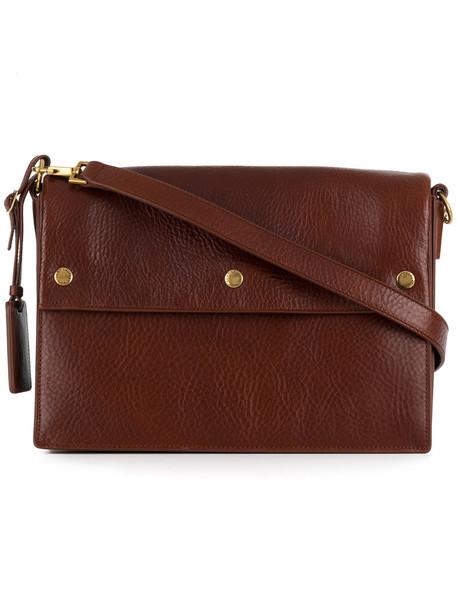 Saint Laurent women bag shoulder bag leather brown