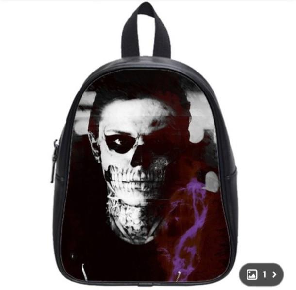 1344a9c263fd bag cute bag american horror story season 4 cute beanies tate langdon  earphones