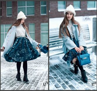 skirt winter outfits lookbook asos outfit zara style mango michael kors bag shoes coat