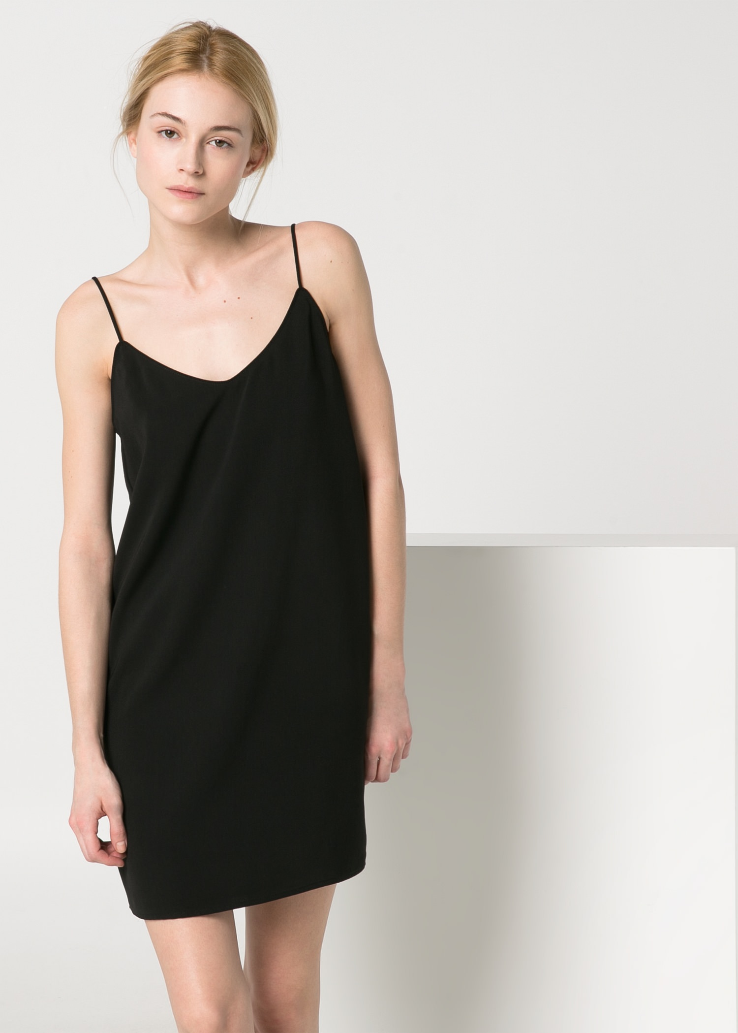 Crisscross strap dress - Jackets for Women | MANGO