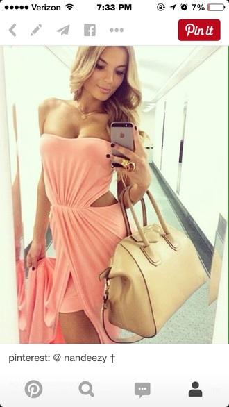 dress pink pink dress slit open open dres open dress slit dress