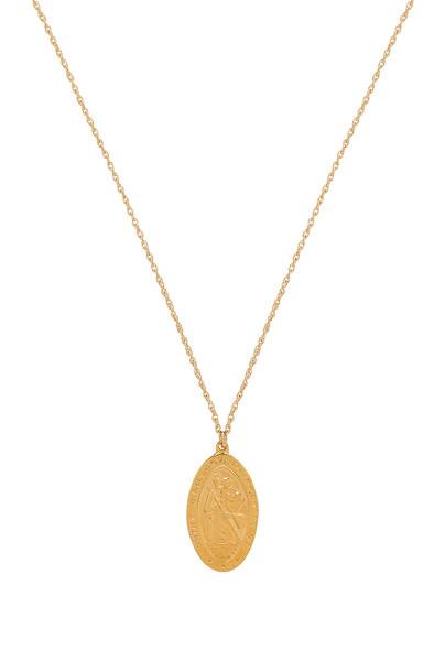 Natalie B Jewelry necklace metallic gold jewels