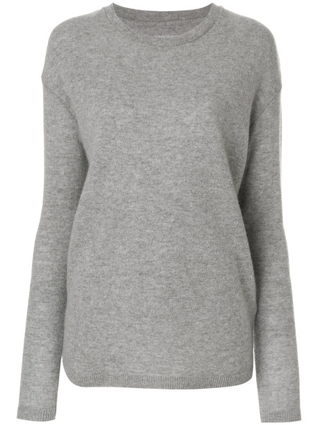 Majestic Filatures jumper women grey sweater