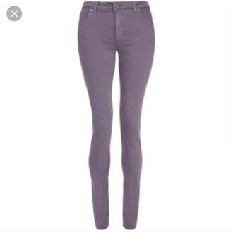 jeans purple skinny jeans