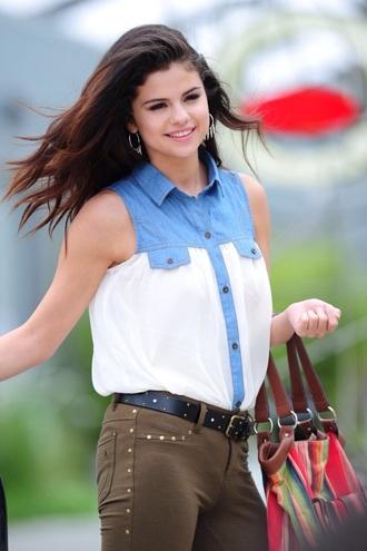 blouse selena gomez