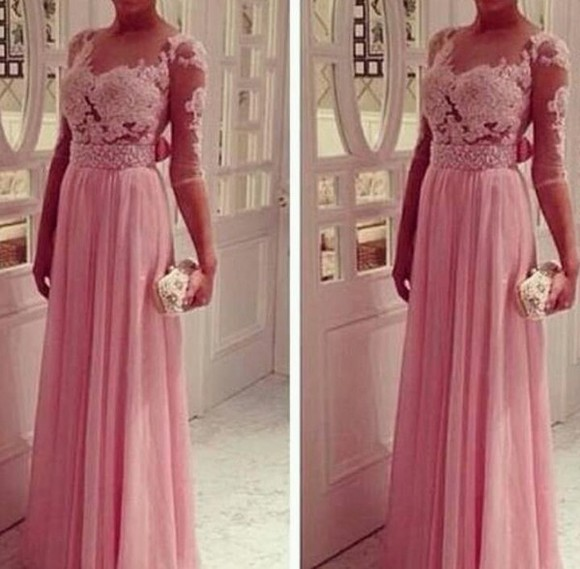long dress long long pink lace dress pink lace dress long lace dress pink dress