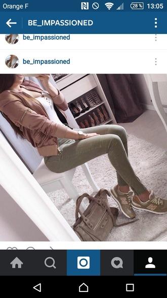 jacket rose pale pants pantalon kakis skinny jeans jeans