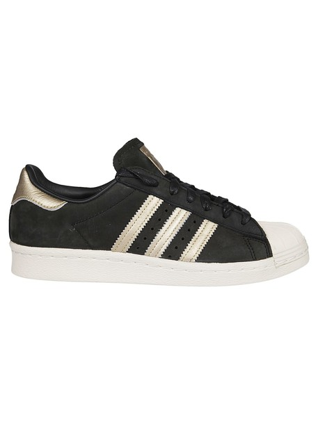 Adidas sneakers gold black shoes