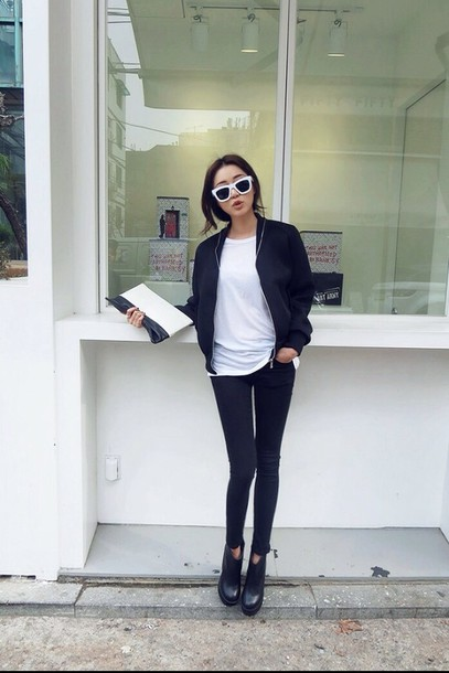 jeans jacket black black jacket