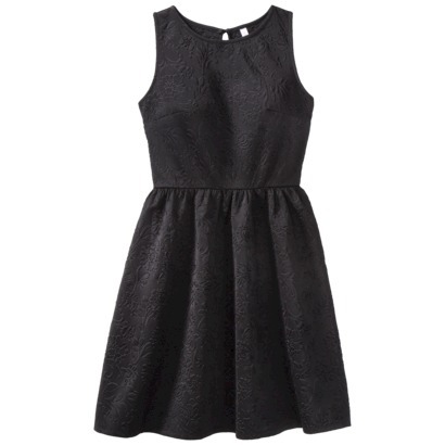 Xhilaration® Junior's Sleeveless Scuba Dress... : Target