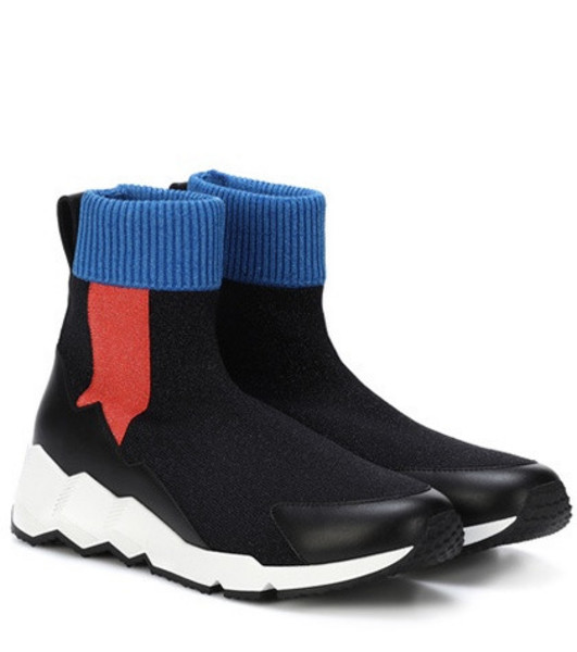 Pierre Hardy Flash Comet knitted sneakers