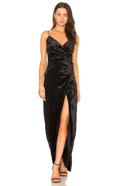 Stylestalker dress maxi dress maxi black
