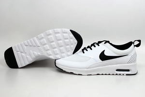 nike air max thea white with black