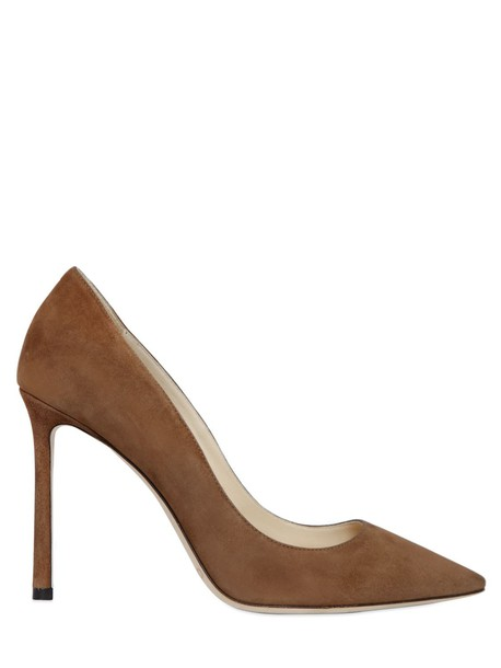 Jimmy Choo suede pumps pumps suede tan shoes