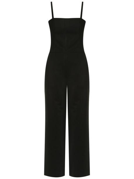 Andrea Marques - jumpsuit - women - Cotton/Spandex/Elastane - 36, Black, Cotton/Spandex/Elastane