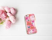 phone cover,style,chic,tumblr inspo,floral cover,summer,instagram inspo,fashion inspo,floral,flowers,cover,iphone cover,instagram,tumblr,tumblr style,inspiration,flowers cover,pink,gold,spring,apple,iphone,iphone case
