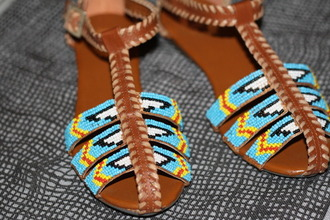 flat sandals leather boho brown blue yellow white brown shoes blue shoes yellow shoes red shoes white shoes black shoes shoes