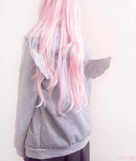Jacket Pastel Pastel Goth Kawaii Cute Pale Grunge