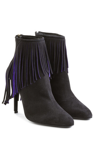 suede ankle boots boots ankle boots suede black shoes