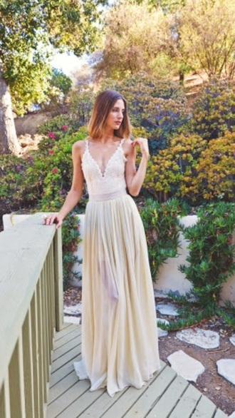dress formal lace pastel