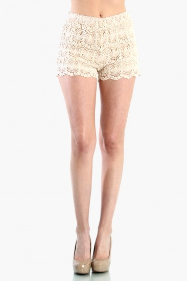 LoveMelrose.com From Harry & Molly | Lace Short Pants
