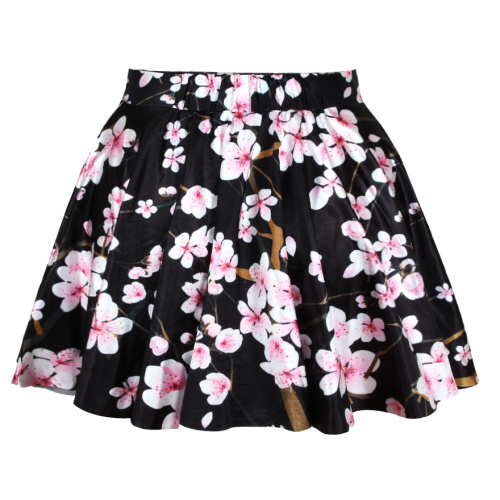 Top sale new arrive 2014 spring skirts womens pleated leaf skirts woah dude 2.0 hwmf skirt