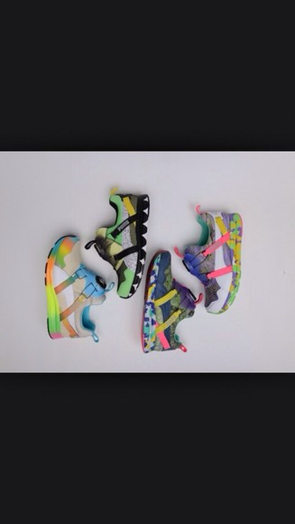 adidas shoes multicolor sneakers