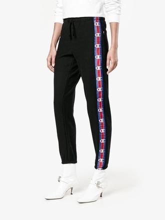 pants champion joggers vêtements collection exclusive collaboration leggings black black pant vintage champion sportswear champion long sleeve white champion black pantsuit