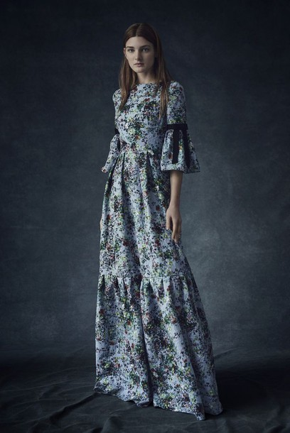 Dress Bell Sleeve Dress Bell Sleeves Maxi Dress Printed Dress