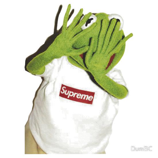 """Supreme Kermit The Frog"" T-Shirts & Hoodies by DumBC | Redbubble"