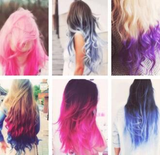 hair extensions hairstyles girly pastel hair hair/makeup inspo