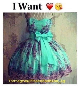 dress mint floral mint mint dress sparkly dress sparkle bow dress bow