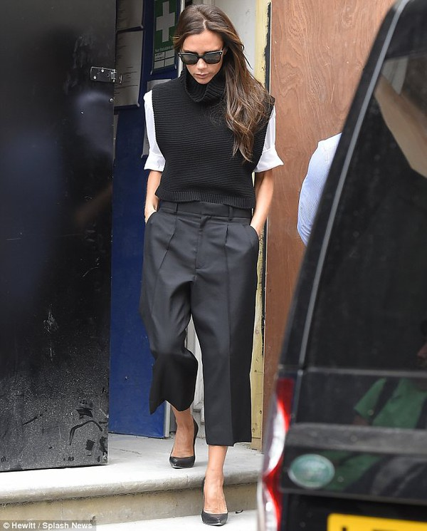 pants shirt shoes victoria beckham