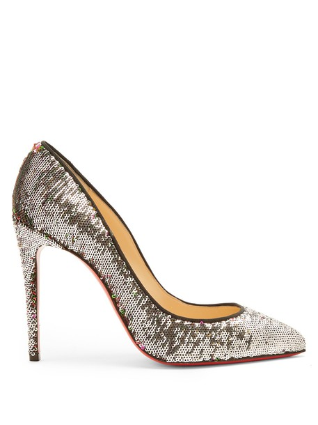 christian louboutin embellished pumps shoes